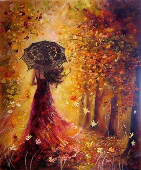 donna dipinto
